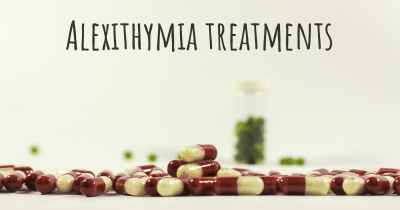 Alexithymia treatments