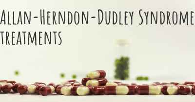 Allan-Herndon-Dudley Syndrome treatments
