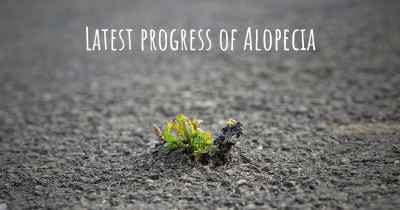 Latest progress of Alopecia
