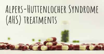 Alpers-Huttenlocher Syndrome (AHS) treatments