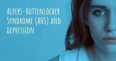 Alpers-Huttenlocher Syndrome (AHS) and depression