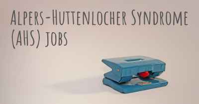 Alpers-Huttenlocher Syndrome (AHS) jobs