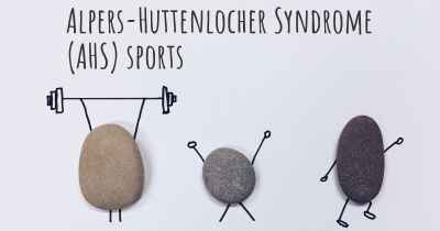 Alpers-Huttenlocher Syndrome (AHS) sports