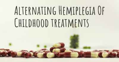 Alternating Hemiplegia Of Childhood treatments