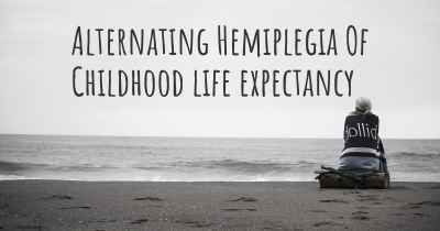 Alternating Hemiplegia Of Childhood life expectancy