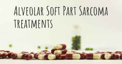 Alveolar Soft Part Sarcoma treatments