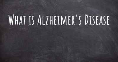 What is Alzheimer's Disease