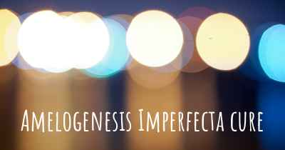 Amelogenesis Imperfecta cure