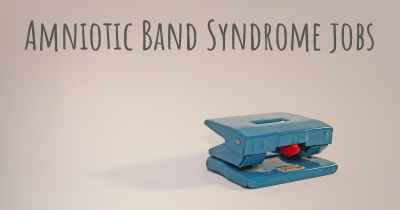 Amniotic Band Syndrome jobs
