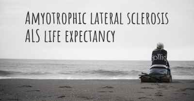 Amyotrophic lateral sclerosis ALS life expectancy