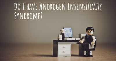 Do I have Androgen Insensitivity Syndrome?