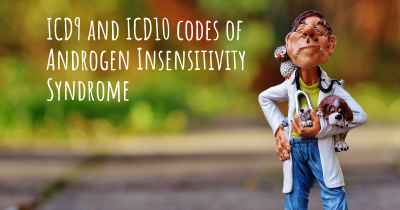 ICD9 and ICD10 codes of Androgen Insensitivity Syndrome