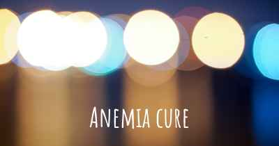 Anemia cure