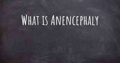What is Anencephaly