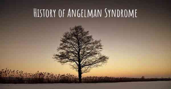 History of Angelman Syndrome