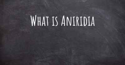 What is Aniridia