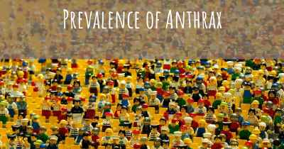 Prevalence of Anthrax
