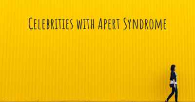 Celebrities with Apert Syndrome
