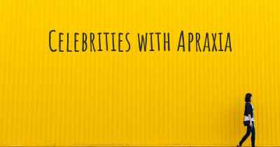 Celebrities with Apraxia