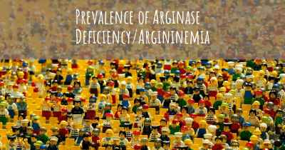 Prevalence of Arginase Deficiency/Argininemia