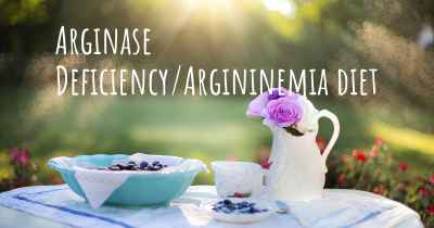 Arginase Deficiency/Argininemia diet