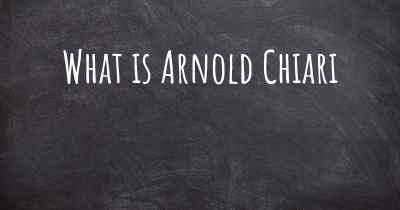 What is Arnold Chiari
