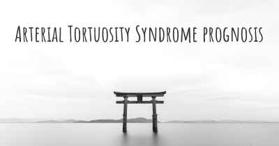 Arterial Tortuosity Syndrome prognosis