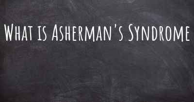 What is Asherman's Syndrome