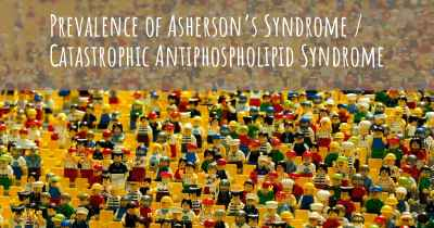 Prevalence of Asherson's Syndrome / Catastrophic Antiphospholipid Syndrome