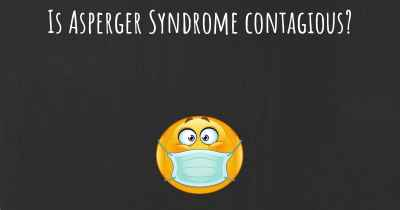 Is Asperger Syndrome contagious?