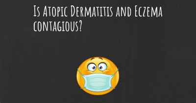 Is Atopic Dermatitis and Eczema contagious?