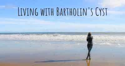 Living with Bartholin's Cyst