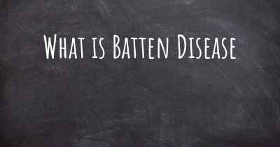 What is Batten Disease