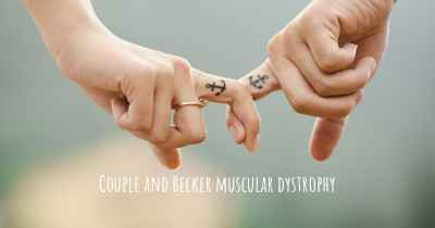 Couple and Becker muscular dystrophy