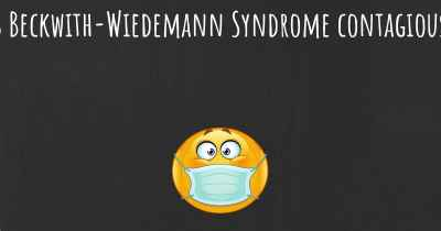 Is Beckwith-Wiedemann Syndrome contagious?
