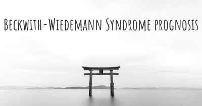 Beckwith-Wiedemann Syndrome prognosis