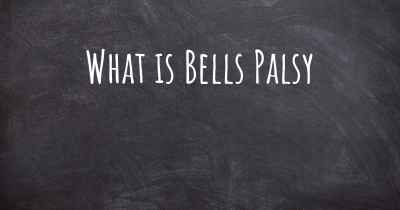 What is Bells Palsy