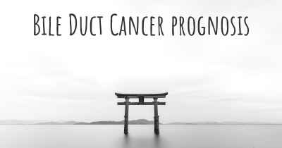 Bile Duct Cancer prognosis