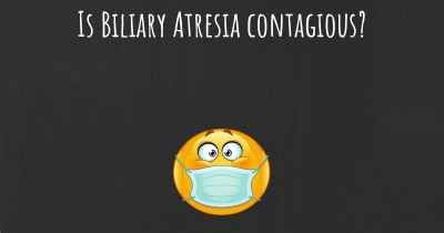 Is Biliary Atresia contagious?
