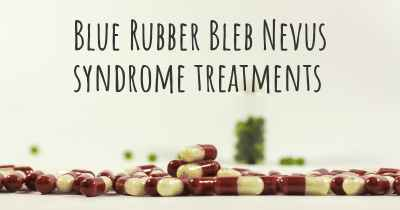Blue Rubber Bleb Nevus syndrome treatments