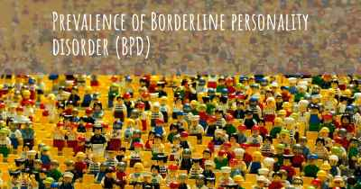 Prevalence of Borderline personality disorder (BPD)