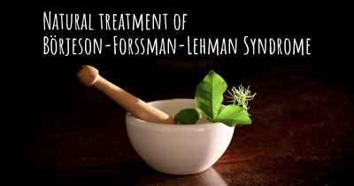 Natural treatment of Börjeson-Forssman-Lehman Syndrome