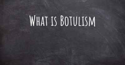 What is Botulism