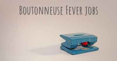 Boutonneuse Fever jobs