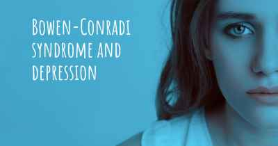 Bowen-Conradi syndrome and depression