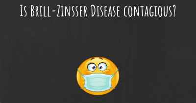 Is Brill-Zinsser Disease contagious?