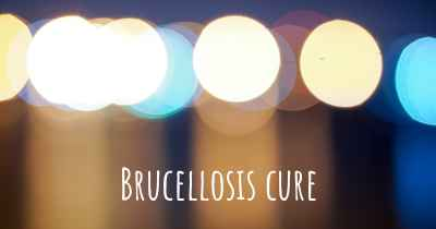 Brucellosis cure