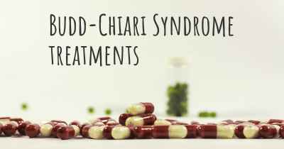 Budd-Chiari Syndrome treatments
