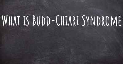 What is Budd-Chiari Syndrome