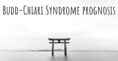 Budd-Chiari Syndrome prognosis